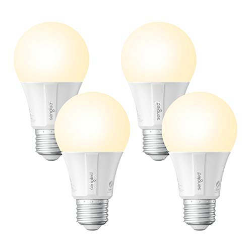 Sengled Smart LED Soft White A19 Bulb, Hub Required, 2700K 60W Equivalent, Works with Alexa, Google Assistant & SmartThings, 4 Pack