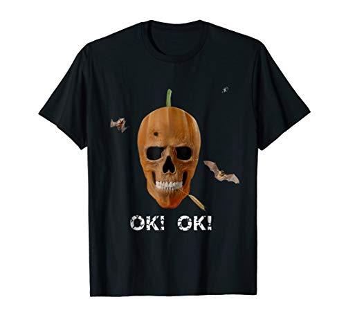 Original halloween skull face for men and women- halloweenie