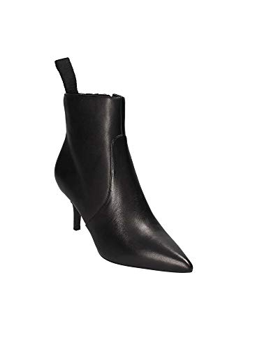 Red Pelle Mod Black Guess Donna Scarpe Tronchetto Tc Ankle Boot 50 Deidra D19gu38 wnR1zqnvxB