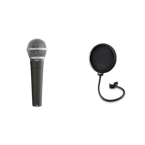 Pyle-Pro-PDMIC58-Professional-Moving-Coil-Dynamic-Handheld-Microphone
