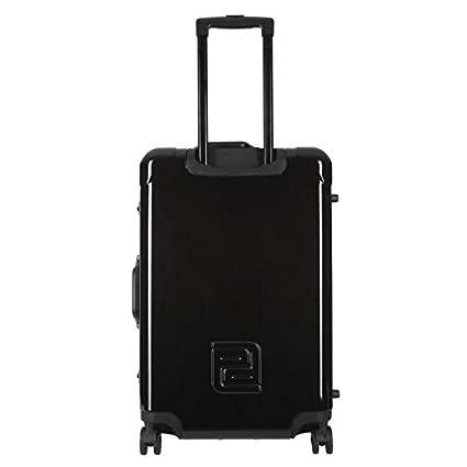 PLATINIUM Set de 2 maletas rígida policarbonato Luxe 8 ruedas aluminio negro con marco y candado TSA: Amazon.es: Alimentación y bebidas