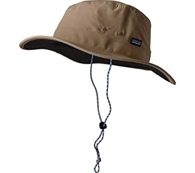 Patagonia Hats Tech Sun Booney Hat - Tan Large X-Large  Amazon.co.uk ... 7716613f57d