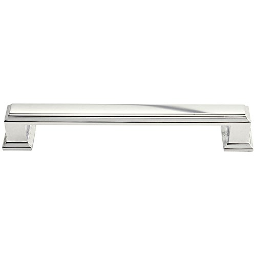 Atlas Homewares 292-PN 6-Inch Sutton Large Pull, Polished Nickel