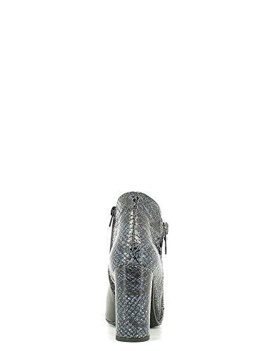 GRACE SHOES 8976 F140 T80GR Boots à Talons Femmes Noir Q4wrnZtde