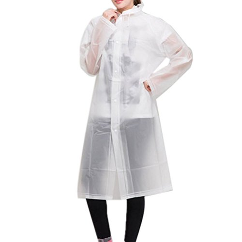 Nanxson(TM) Women's Polka Raincoat Poncho Rain Bicycle Ridding Cape WTW0070 L