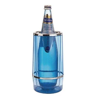 APS u219/vin refroidisseur de bouteille teinte acrylique bleu
