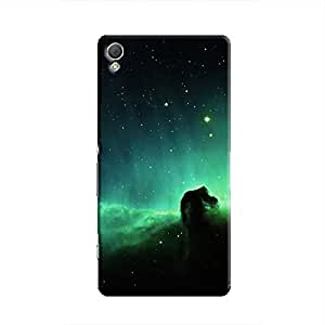 Cover It Up - Green Space Cloud Xperia Z2 Hard Case