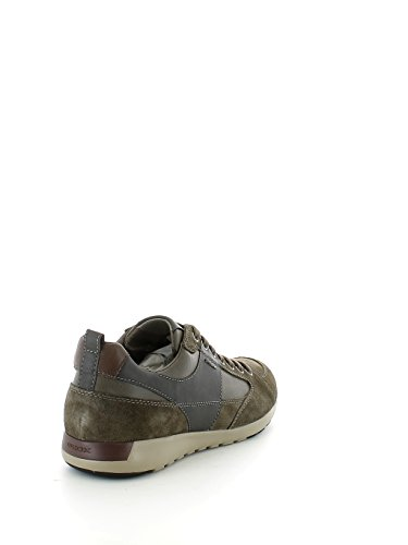 Geox U54F8D022ME Sneakers Uomo Scamosciato Taupe Taupe 43