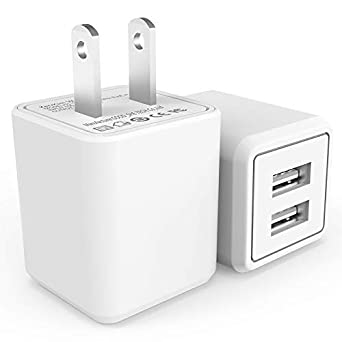 Review Wall Charger, 2.4A 12W
