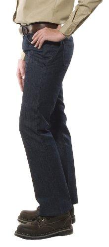 Benchmark Women's Flame Resistant Boot Cut American Denim Jeans Indigo HRC 2  Size 6 x 30