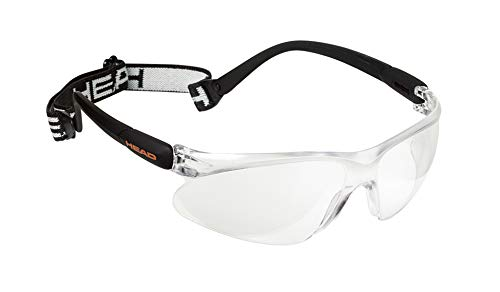 HEAD Racquetball Goggles - Impulse Anti Fog & Scratch Resistant Protective Eyewear w/Clip On Adjustable - Eyewear Protective Fog Anti
