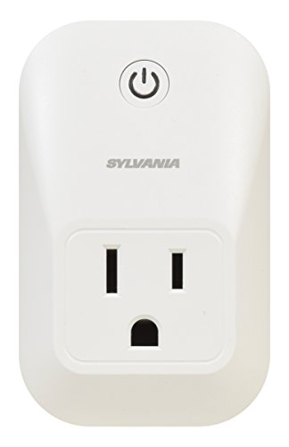 SYLVANIA SMART+ ZigBee Indoor Smart Plug, Works with SmartThings and Amazon Echo Plus, Hub Needed, Works with Alexa and Google Assistant