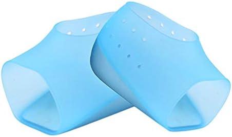 HEALLILY 1 Paar unsichtbare Höhe, Einlegesohle, Plantarfasziitis, Fersenpolster, Gel-Fersenpolster, Gel-Fersenpolster für Damen und Herren (weiß, Größe 2 CM) blau blau 3 cm