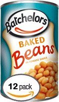 Batchelors Baked Beans In Tomato Sauce, 14.8-Ounce Cans (Pack of 12) (Baked Beans In Tomato Sauce compare prices)