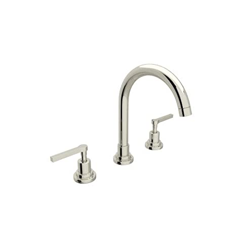Rohl A2208LMPN-2 U.6955Eb A2208Lm-2 Lombardia Widespread Bathroom Faucet with Metal