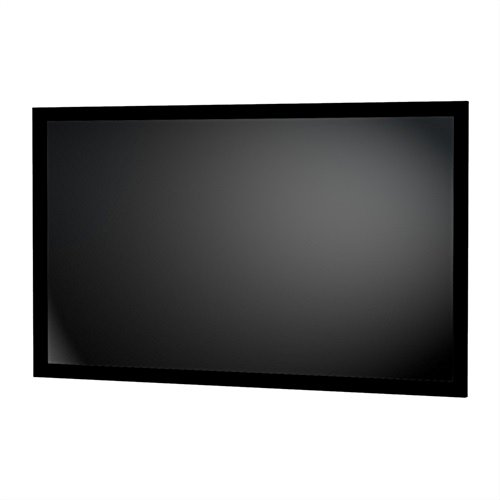 (Da-Lite Parallax 0.8 Fixed Frame Projector Screen 28848V - 120 inch Diagonal (59x104.5) - [16:9] - 0.8 Gain )