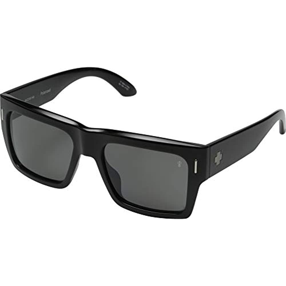 50c0c3e292 Free Tax Spy Optic Unisex Bowery Black Injected Grey Polarized Sunglasses  Clothing Free Shipping And Free Return