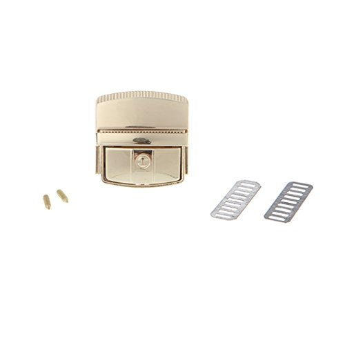 (Buckle Turn Lock - Women Bag Accessories Snap Clasps Closure for Purse Handbag by Beinil)