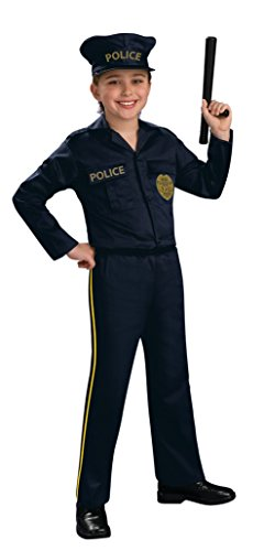 [Rubie's Costume Police Officer Costume, Multicolor, Large] (Rubies Costume Co Reviews)