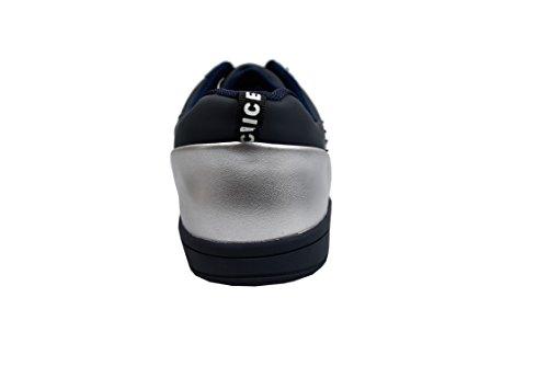 Zerimar Chaussures De Golf En Cuir De Vachette Sport Et Confortable Courir Décontracté Bleu Marine Taille 44