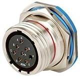 Amphenol Aerospace Circular Connector, Jam Nut Receptacle, Size B35, 13 Position - D38999/24WB35SN