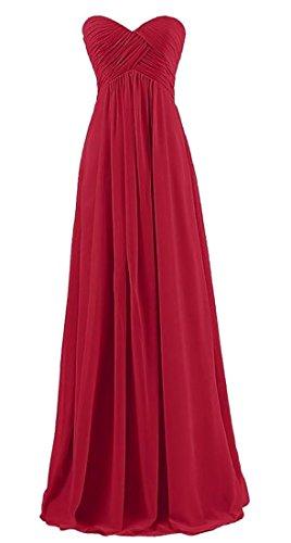 Ainr Longue Robe De Demoiselle D'honneur De Bal Bustier Perlé Femmes Robe De Soirée Maxi 3