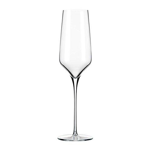 Libbey 9332 Prism 8 Ounce Flute Glass - 12 / CS