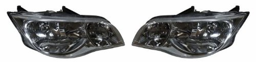 - Saturn Ion Coupe Replacement Headlight Assembly - 1-Pair