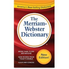 Merriam-Webster Dictionary, 11th Edition (Dictionary Newest)
