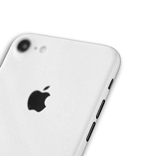 AppSkins Folien-Set iPhone 7 Full Cover - Brilliant Diamantweiß/ ceramic white