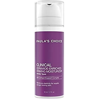 Paula's Choice CLINICAL Ceramide Enriched Firming Moisturizer, Retinol & Vitamin C, Anti-Aging & Wrinkles, 1.7 Ounce