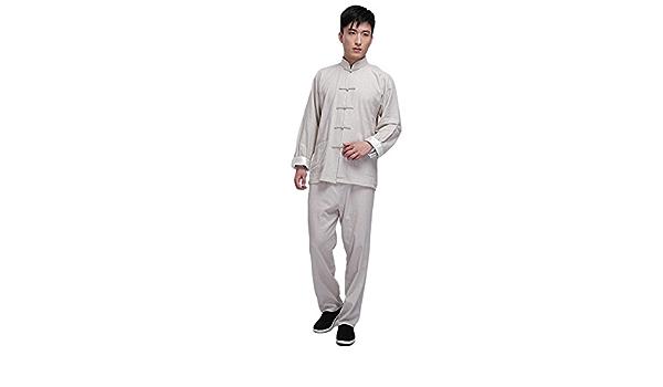 zooboo Vintage Chino traje de Kung Fu chaqueta de artes ...