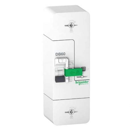 SCHNEIDER - Resi9 DB60 Disjoncteur Branchement 1P+N 15/45A 500mA SCHNEIDER R9FT645 - SCH-R9FT645 Schneider Electric