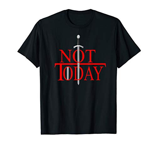 Not Today What Do We Say To The God Of Death?Funny Christmas T-Shirt (Heather Christmas Black Death 2019)