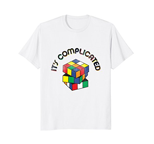 Its complicated Rubik Cube 90s nostalgia vintage T-shirt