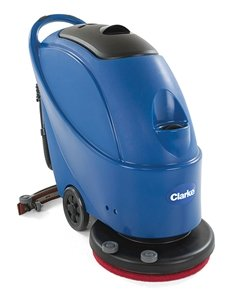 Captivating NEW Clarke CA30 20B Battery 20u0026quot; Walk Behind Floor Scrubber  On Board