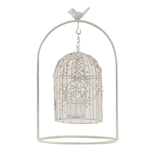 - LF stores Candlestick European Bird Cage Candle Holder Retro Western Food Iron Candlestick Creative Home Furnishings Candle Holders (Color : A)