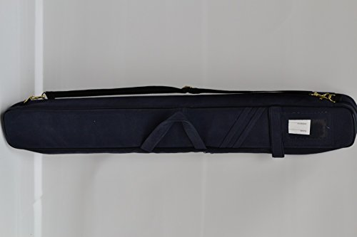 Billard Queue Tasche Köcher blau für 3 Unterteile / 4 Oberteile
