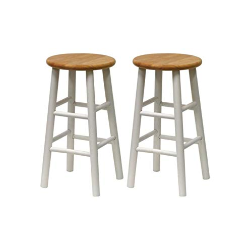 (Winsome Wood Tabby Beveled Seat Stools (24