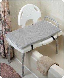 """Comfort Products Foam/Mesh Bath Cushions. 25"""" x 16"""" Showe..."""