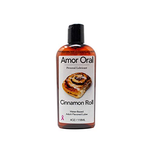 Roll Flavored - Cinnamon Roll Flavored Lube – Edible Personal Lubricant