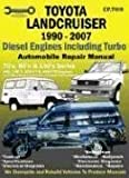 Toyota Landcruiser 1990-2002 Diesel Engines Including Turbo: 70's, 80's, and 100's Series: Automobile Repair Manual by Ellery, Max (2003) Paperback