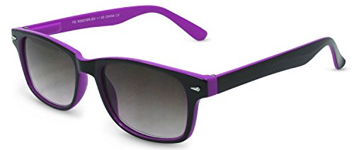 In Style Eyes Rescue Me, Classic Wayfarer Reading Sunglasses. Not BiFocals/Light Purple/1.50 - Mens Readers Sunglass