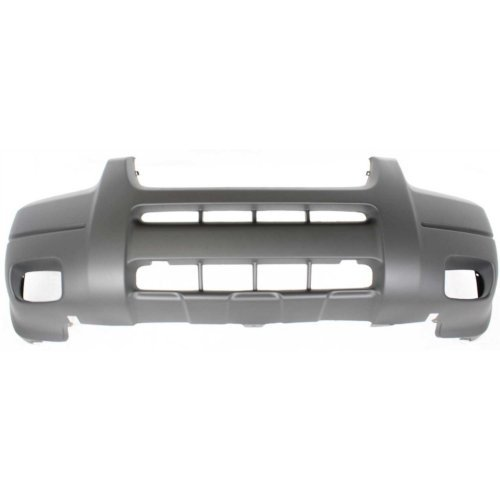 Garage-Pro Bumper Cover for FORD ESCAPE 01-04 FRONT Txtd Platinum w/Fog Light Holes XLS/XLT Model ()