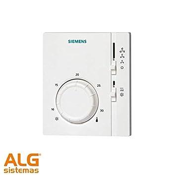 Termostato fancoil Siemens RAB-11: Amazon.es: Bricolaje y ...