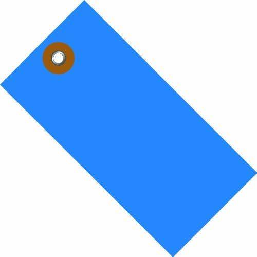 Tyvek G14041A Empty-Eyelet Shipping Blank Tag Spunbonded Olefin 4-1/4 Height x 2-1/8 Width Blue (Case of 100) [並行輸入品]