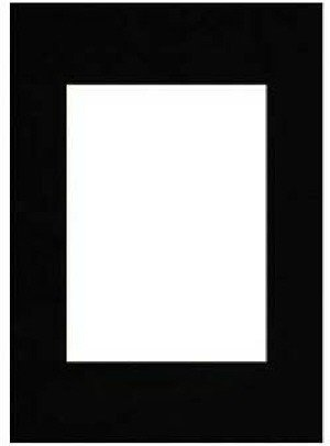 Hama Premium Passepartout, Smooth Black, 40 x 60 cm Nero 00063418