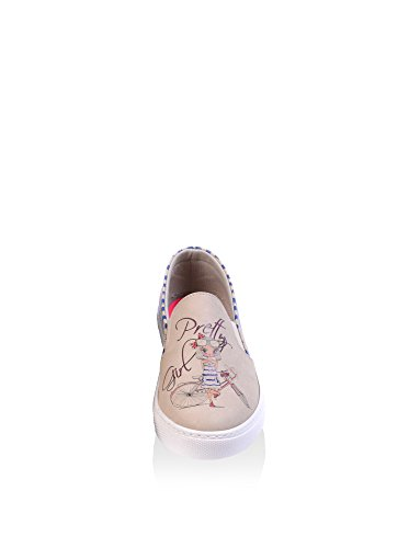 on Beige Mujer Slip Goby Vn4025 qwfREEU