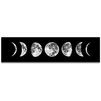 Amazon Com Phases Of The Moon Calendar 2017 Educational