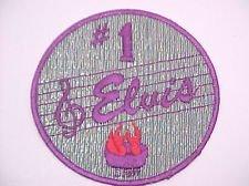 Vintage 1977 #1 Elvis Presley Hunk of Burning Love Embroidered Patch Sew On
